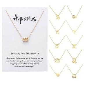Jewelry - Zodiac Sign Necklace